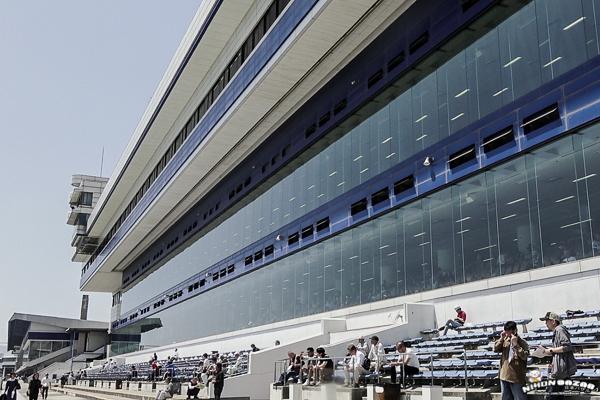 Bâtiment du stade de boat race de Tokoname